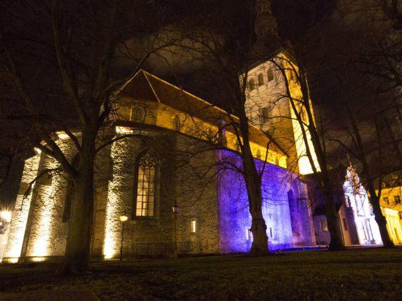 Ljusfestival i Tallinn